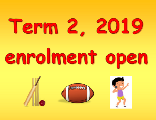 Term 2, 2019 Enrolment now open