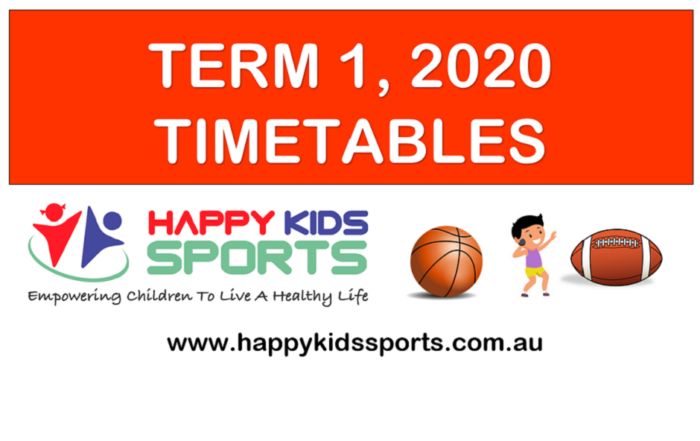TERM 1 TIMETABLES 2020