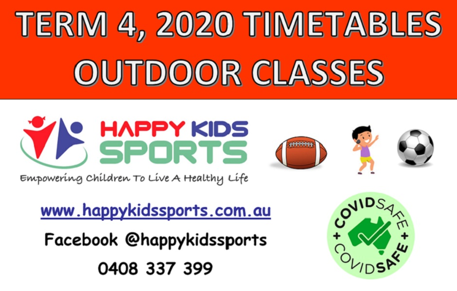 Happy Kids Sports Outdoor classes